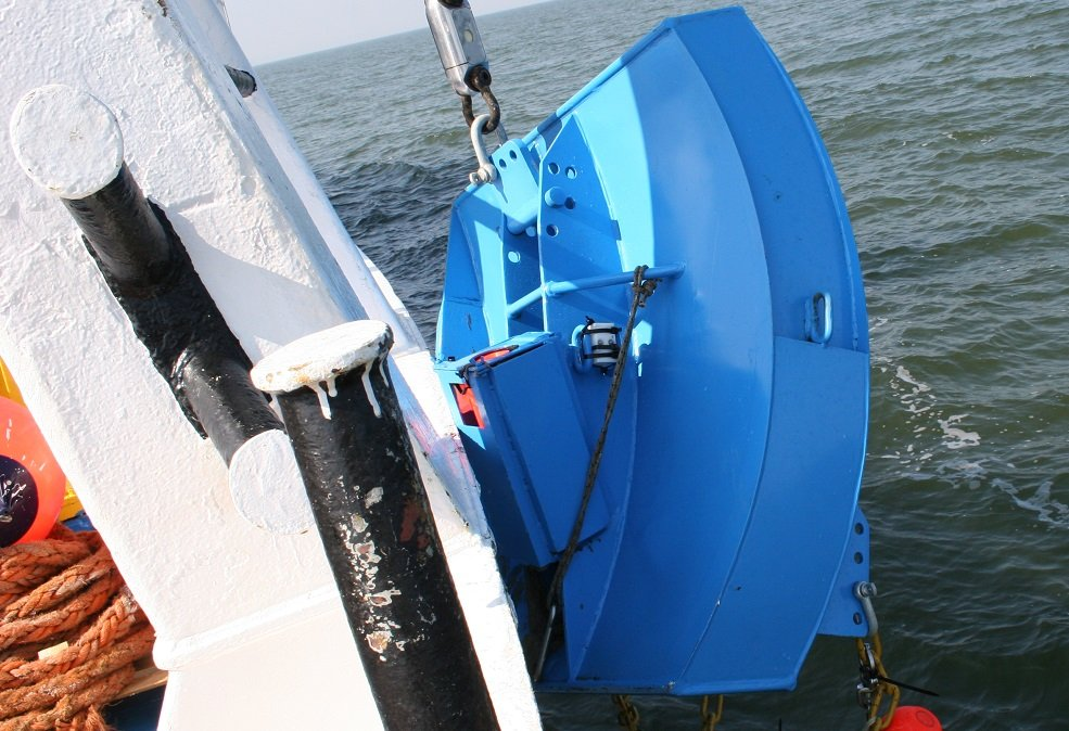 Newly developed trawling gear can lower the impact of fishing on the sea floor.