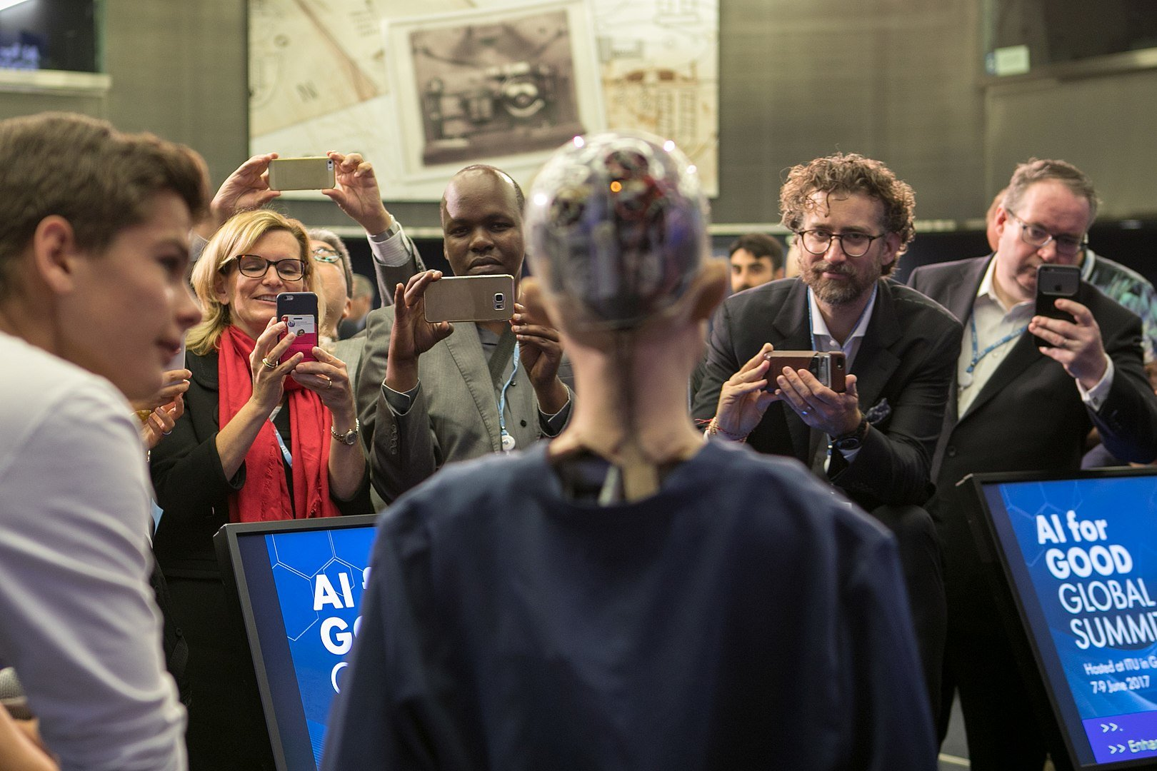 Europe publishes more AI research papers than the US or China but turning research into a business remains a challenge. Image credit - ITU Pictures, licensed under CC BY 2.0