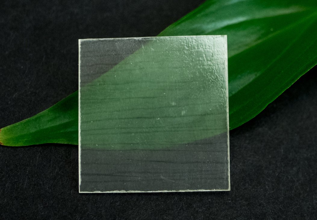 Transparent wood is created by stripping out lignin from wood and replacing it with a polymer.